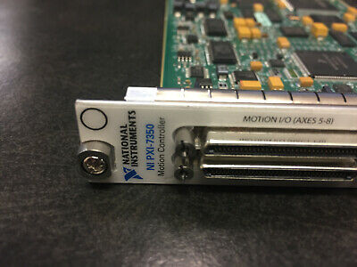 National Instruments NI PXI-7350 / PXI-7354 Motion Controller Card