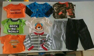 Garanimals Baby Boys Clothes Lot Size 3/6 Months