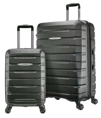 "Samsonite TECH TWO 2.0 2-Piece Hardside Set Luggage Gray 27"" & 20"""