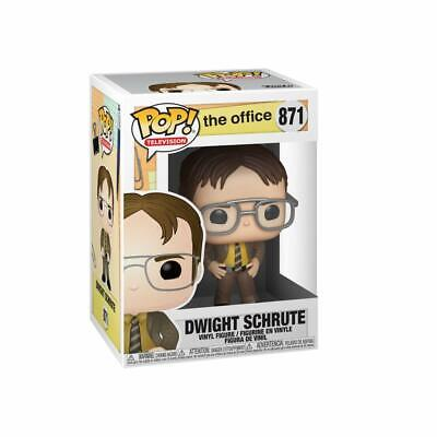 Funko Pop! Television: The Office-Dwight Schrute 871 34906 Vinyl Figure In Stock