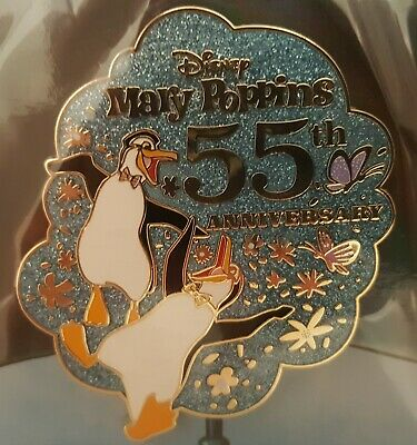 D23 MARY POPPINS Pin 55th Anniversary Limited Edition Disney Expo Store 2019