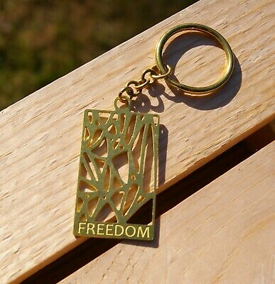 Freedom NMAAHC National Museum of African American History and Culture Keychain