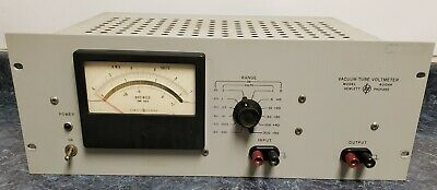 Vintage Hewlett-Packard Model 400HR Vacuum Tube Voltmeter (As Is Untested)