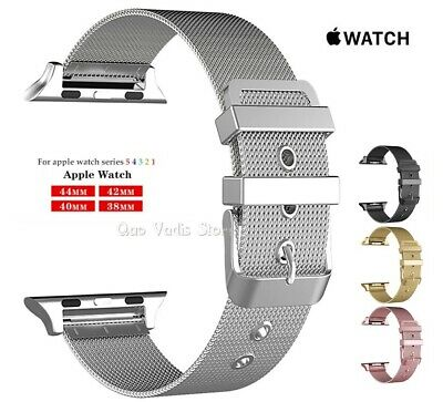 Correa Pulsera Milanese Loop De Metal Para Apple Watch 1/2/3/4/5 / 38-40-42-44