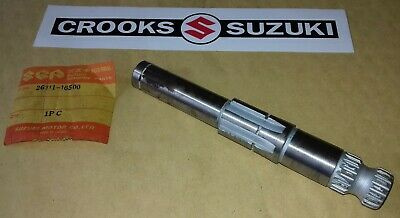 NOS 26211-16500 TM400 Genuine Suzuki Kickstart Shaft