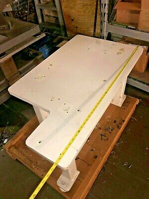 "1.5"" Steel Fab Machine Welding Layout Table Work Bench 42.5""x24""x1.5"" Thick Top"