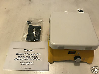 "Thermo Scientific S194925 Cimarec Magnetic Stirrer 7.25 x 7.25"" Ceramic 120V"