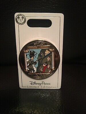 DISNEY PARKS 2019 MULAN 20th ANNIVERSARY LE OF 2000 SPINNER (REVERSIBLE) PIN NEW