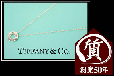 Tiffany & Co. Necklace Elsa Peretti Eternal Circle SV925 Pendant 15.7 in m332021