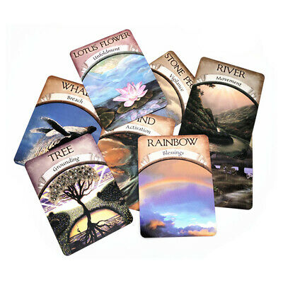 Magic Oracle Cards Earth Magic Read Fate Tarot 48-card Deck And Guidebook Set hy