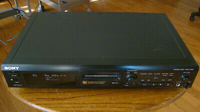 Sony MDS-JE500 MiniDisc Deck Recorder Fully Tested Great Working Condition