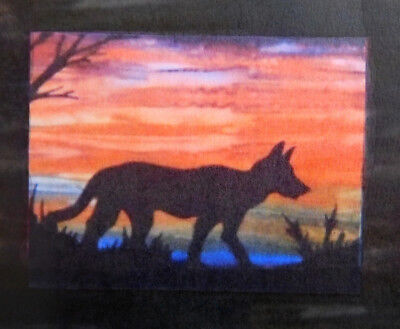 Quilting Sewing AUSTRALIAN Animal DINGO Quilt Pattern Kit including Fabric New