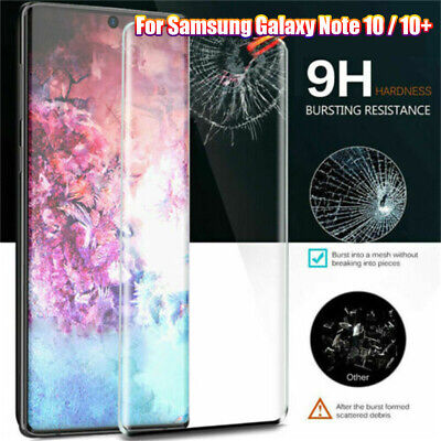 Screen Protector Tempered Glass Film Full Cover for Samsung Galaxy Note 10 / 10+