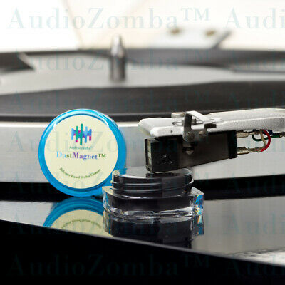 Record Stylus Cleaning - Audiozomba™ Dustmagnet™ Stylus Cleaner Vinyl Records