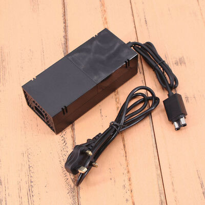 AC Adapter Charger Cable Cord Power Supply Black For Microsoft Xbox One UK plug
