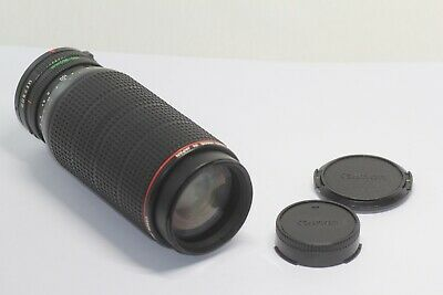 Canon New FD Zoom 100-300mm F/5.6 L Lens Made In Japan