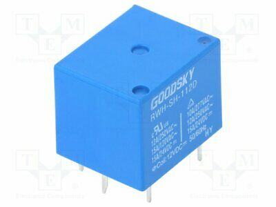 Goodsky EMI-SS-112D 12V DC Coil Change//Over Relay1 SPDT Contact 12A//30Vdc//250Vac