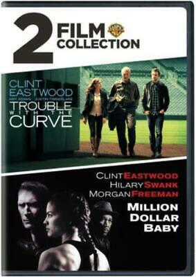 TROUBLE WITH THE CURVE / MILLON DOLLAR BABY (Region 1 DVD,US Import,sealed.)