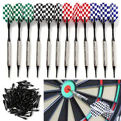 DART 12/15 PCS Jeu de Flechette café bar club en plein air + 100 PCS de rechange