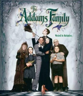 ADDAMS FAMILY (Region A BluRay,US Import,sealed.)