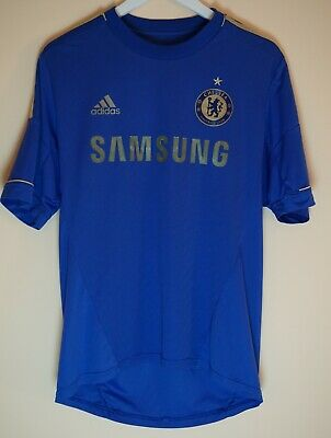 pretty nice 6eb75 fbee4 CHELSEA 2012/2013 HOME Soccer Football Jersey Shirt Adidas Gold Kit Maglia