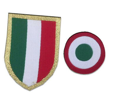 TOPPA/PATCH coccarda scudetto + coppa italia 2018 2019 2020 Mint Badge Juventus