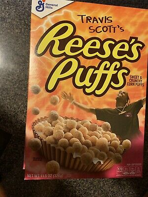 Special Edition Travis Scott Reese's Puffs Cereal