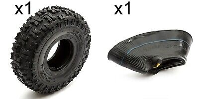 Tyre & Innertube 4.10-4 Knobbly Off Road Tread Mini Moto Quad Bike ATV 4 Inch