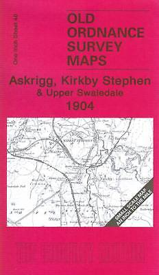 Old Ordnance Survey Map Askrigg, Kirkby Stephen & Upper Swaledale 1904