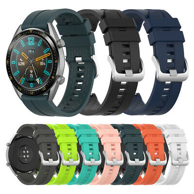 de 22 mm Silicone Bracelet Courroie For Huawei Watch GT / Active / Honor Magic