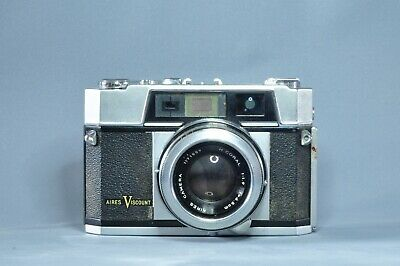 Aires Viscount 35mm Rangefinder with H Coral 4.5cm F1.9 lens