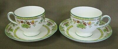 2 x UNUSED Wedgwood Tamarisk Bone China Cups & Saucers R4547 - more available