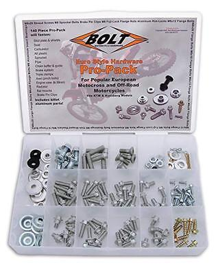 BOLT KTM / HUSABERG  PRO KIT 180pc Fastener bolt Kit track pack.