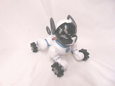 WOWWEE CHIP TOY Robot Dog White 0805 Interactive Trainable