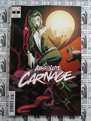 Absolute Carnage (2019) Marvel - #2, 1:25 Kris Anka Variant, Cates/Stegman, NM