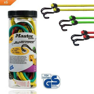 MASTER LOCK Bungee Cords - For Camping, Loads On Bicycles, House Moving