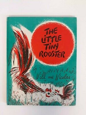 Vintage 1960 The Little Tiny Rooster Book. Weekly Reader Childrens Book Club. HB