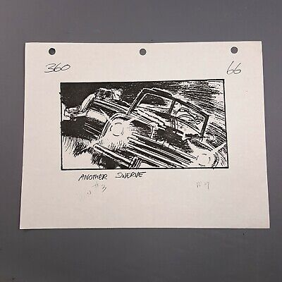 BACK TO THE FUTURE 2 - Production Used Storyboard - Marty on Hoverboard