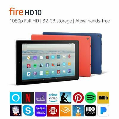 FIRE HD 10 Tablet with Alexa Hands-Free, 10 1 1080p Full HD