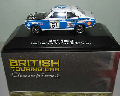 1:43 code 3 diecast BTCC touring car model 2010 Martin Depper BMW 320si
