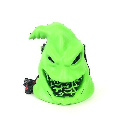 Disney Parks Nightmare Before Christmas Oogie Boogie Popcorn Bucket Light-Up