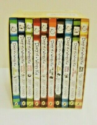 Diary of a Wimpy Kid Collection 10 Books Box Set Jeff Kinney, Jeff Kinney, Excel