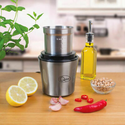Coffee Grinder Nut And Spice Grinder In Stainless Steel 200W Wet And Dry