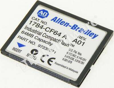 Allen Bradley 1784-CF64 /A Logic 556x CompactFlash Card 64MB Qty