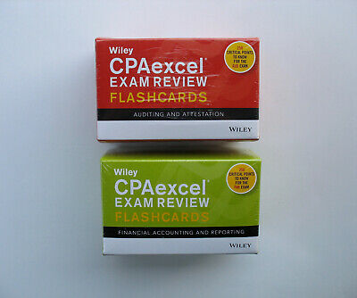 BECKER CPA EXAM Review + Final Review + FlashCards