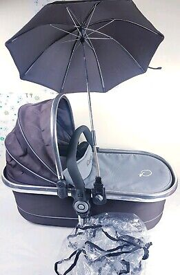 Icandy Peach Twin Truffle 2 Carrycot Chrome Excellent condition