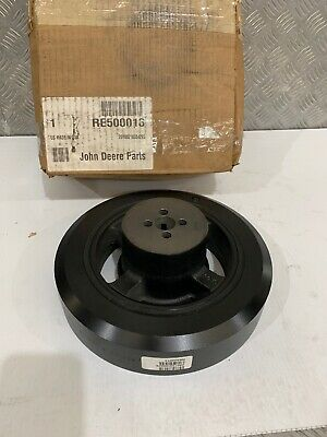 John Deere OEM Crankshaft Pulley With Dampener RE500013