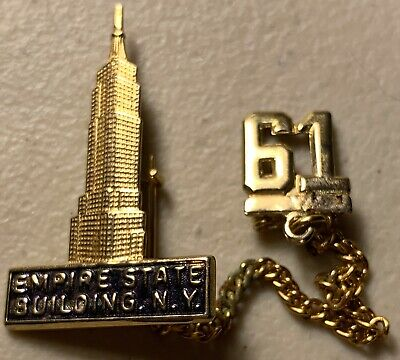 1961 Empire State Building New York City Pin