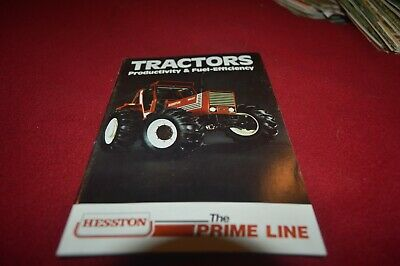 Hesston Fiat Tractors For 1980 Dealer's Brochure AMIL15