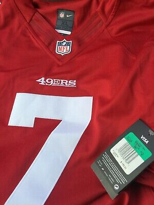 the latest 6be75 49d0b NIKE STITCHED SAN Francisco 49ers Colin Kaepernick Jersey 468937 691 Sz XL  $150